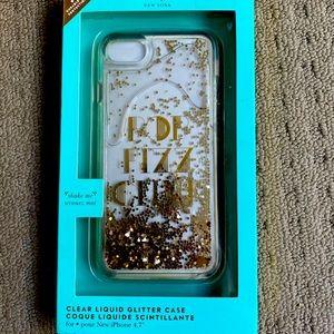 Kate spade liquid glitter case iPhone 7/8